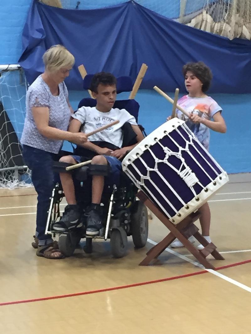 Taiko Drumming in Schools