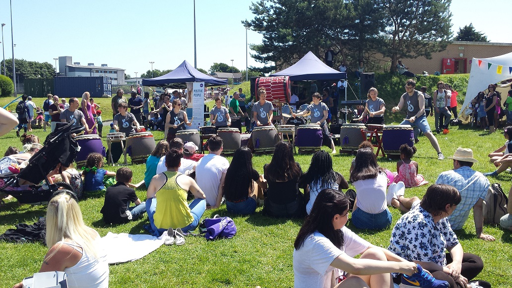 Taiko at festivals and events