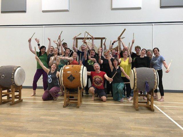 Euphoria workshop with James Barrow, Devon